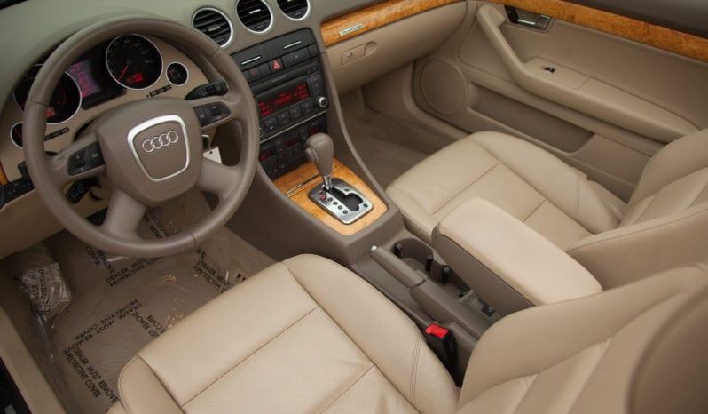 2008 Audi A4 Quattro, Convertible, Heated Seats full