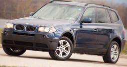 2004 BMW X3, CarFax Certified, AWD