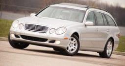 2004 Mercedes-Benz E320 4MATIC, CarFax Certified, Navigation