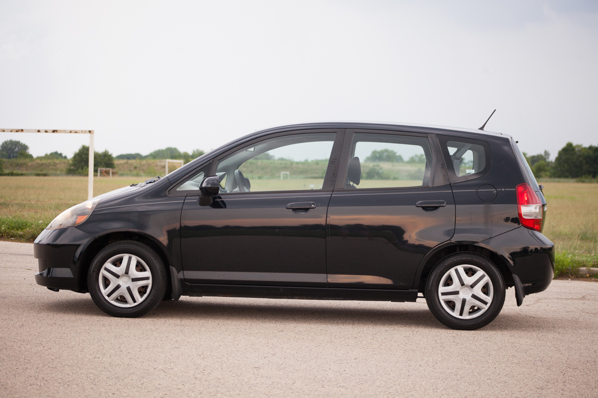 honda fit for sale 5 speed manual aux used car with warranty. Black Bedroom Furniture Sets. Home Design Ideas
