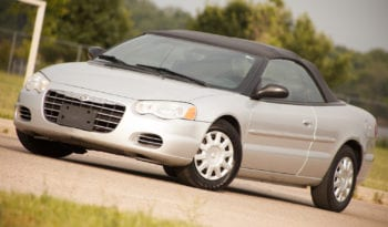 2006 Chrysler Sebring, Convertible, One Owner, CarFax Certified