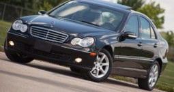 2007 Mercedes-Benz C280 4Matic, Navigation, Sunroof