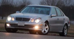 For sale 2003 Mercedes-Benz E500, CarFax Certified, Sunroof, Heated Seats