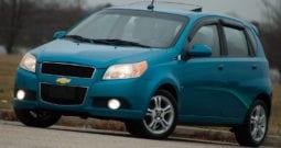2009 Chevrolet Aveo LT, AUX, Sunroof, 5-Speed Manual