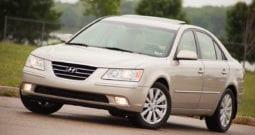 2009 Hyundai Sonata Limited, CarFax Certified, Heated Seats