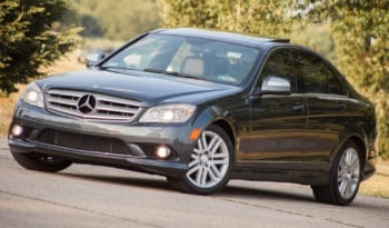 2008 Mercedes-Benz C300 4Matic, One Owner, CarFax Certified full