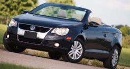 2009 Volkswagen EOS, CarFax Certified, Hardtop Convertible