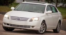 2006 Toyota Avalon Limited, One Owner, CarFax Certified