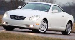 2002 Lexus SC 430 Convertible, Dealer Serviced, CarFax Certified