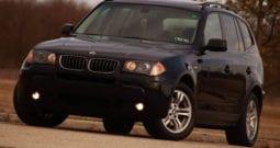 2006 BMW X3, Dealer Serviced, Panoramic Sunroof, AWD