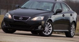2007 Lexus IS 250 AWD, CarFax Certified, Navigation, Ventilated Seats