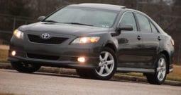 2007 Toyota Camry SE, 5-Speed Manual, 1-Owner, Dealer Serviced