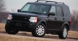 2008 Land Rover LR3 SE, 1-Owner, CarFax Certified, Dealer Serviced