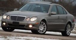 2008 Mercedes-Benz E350 4MATIC, CarFax Certified, Bluetooth