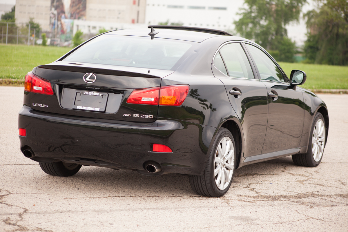 lexus is250 sedan for sale awd carfax certified � used