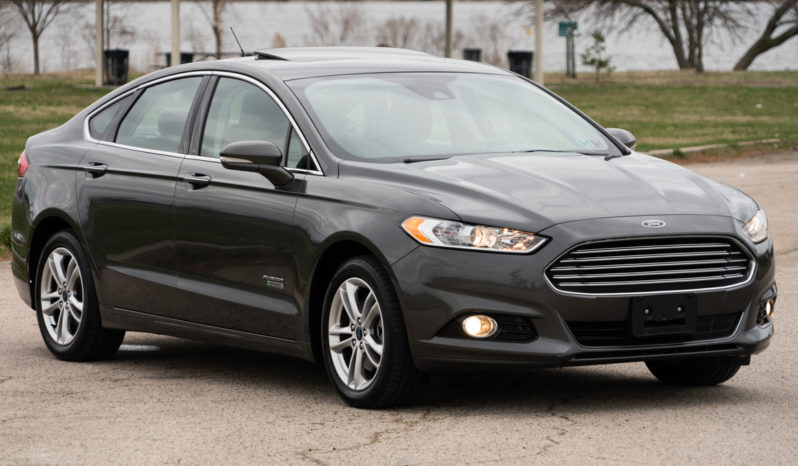 2016 Ford Fusion Energi Hybrid Plug-in Titanium, NAV, Heated Leather Seats, Premium Sound full