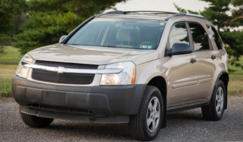 2005 Chevrolet Equinox, All Wheel Drive System full