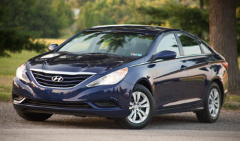 2012 Used Hyundai Sonata GLS in beautiful rich blue color