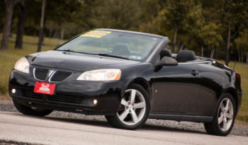 2007PONTIAC G6  CONV HARD TOP, LEATHER HEATED SEATS, LOW MILES full