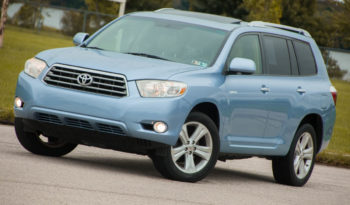 2008 Toyota Highlander, Cold Weather Package, Navigation System full