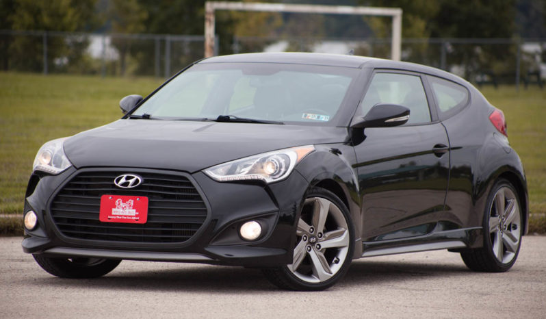 2013 Hyundai Veloster, TURBO, TRIPLE BLACK,  HEATED LEATHER SEATS full