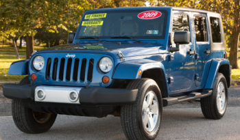 2009 Jeep Wrangler Unlimited Sahara, Hard Top with Tow  Package full