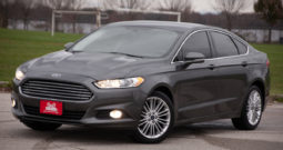 2016 Ford Fusion SE, AWD, Leather Seats, Alloy Wheels, Low Miles