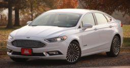 2017 Ford Fusion Titanium, Hybrid, Leather Seats, Backup Camera, Fully Loaded