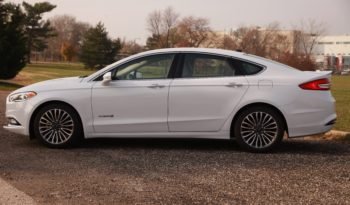 2017 Ford Fusion Titanium, Hybrid, Leather Seats, Backup Camera, Fully Loaded full