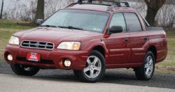 2005 Subaru Baja, AWD, Sunroof, Alloy Wheels