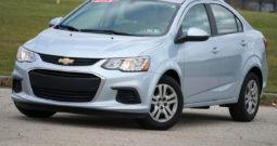 2017 Chevrolet Sonic, NAV, Bluetooth Wireless, Backup Camera, Low Miles