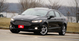 2016 Ford Fusion Energi Plug-In Hybrid Titanium, Heated and Cooling Seats, NAV, Leather Seats, Premium Sound