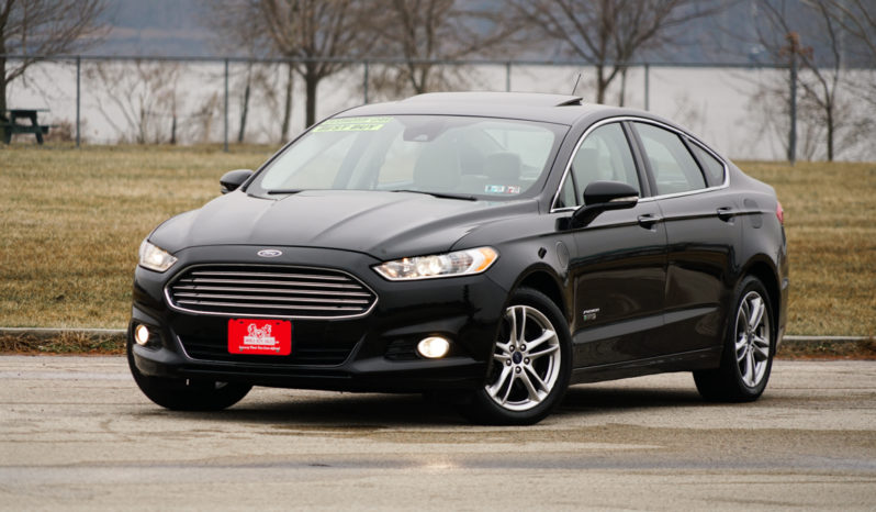 2016 Ford Fusion Energi Plug-In Hybrid Titanium, Heated and Cooling Seats, NAV, Leather Seats, Premium Sound full