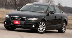2010 Audi A4 Quattro Premium, Satellite Radio, Bluetooth Wireless, Heated Seats, Power Sunroof, Alloy Wheels