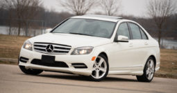 2011 Mercedes-Benz C300 Sport, 4MATIC AWD, NAV, Heated Leather Seats, Sunroof, Alloy Wheels, Premium Sounds