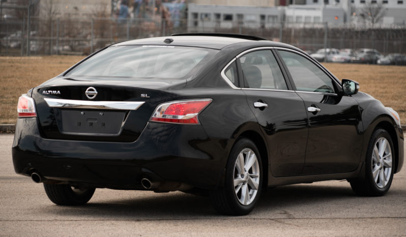 2015 Nissan Altima SL, NAV, Heated Leather Seats, Bluetooth Wireless, Power Sunroof, Alloy Wheels, Premium Sound full
