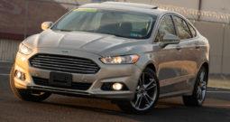 2016 Ford Fusion Titanium, AWD, NAV, Satellite Features, Heated Leather Seats, Parking Sensor, Backup Camera, Premium Sound
