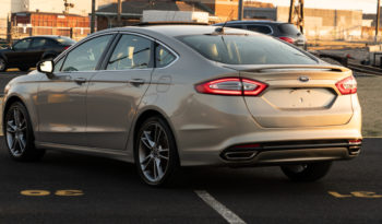 2016 Ford Fusion Titanium, AWD, NAV, Satellite Features, Heated Leather Seats, Parking Sensor, Backup Camera, Premium Sound full