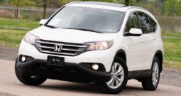 2013 Honda CR-V EX-L, AWD, NAV, Heated Leather Seats, Sunroof, Alloy Wheels