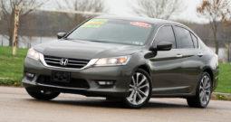 2015 Honda Accord Sport ES, Bluetooth Wireless, Backup Camera, Fog Lights, Alloy Wheels