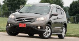 2012 Honda CR-V EX-L, AWD, NAV, Heated Leather Seats, Backup Camera, Alloy Wheels