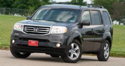 2012 Honda Pilot EX-L, 4×4, NAV, Third Row Seat, Heated Leather Seats, Alloy Wheels