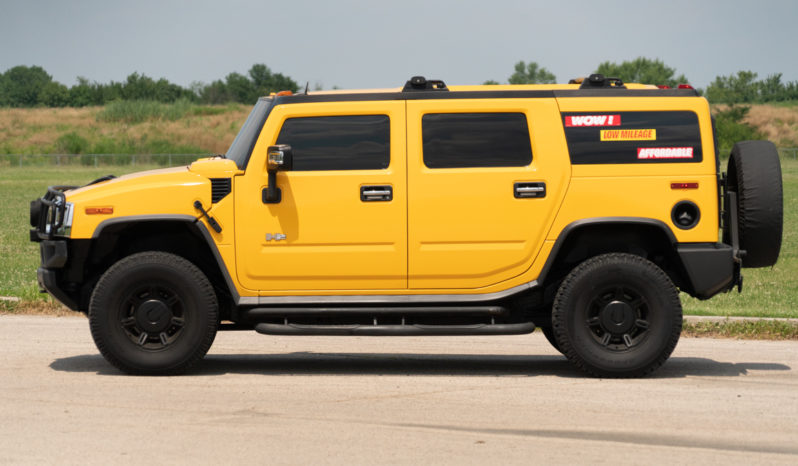2003 Hummer H2, Leather Seats, Entertainment System, Sunroof, Premium Sounds full