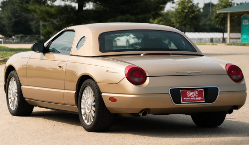 2005 Ford Thunderbird Deluxe, Hard Top, Heated Leather Seats, Alloy Wheels full