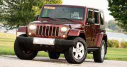 2007 Jeep Wrangler Unlimited Sahara, 4×4, Towing Package, Running Boards, Premium Sound