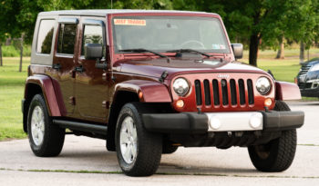 2007 Jeep Wrangler Unlimited Sahara, 4×4, Towing Package, Running Boards, Premium Sound full