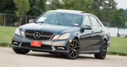 2011 Mercedes-Benz E350 4MATIC, AWD, NAV, Heated Leather Seats, Sunroof, Alloy Wheels