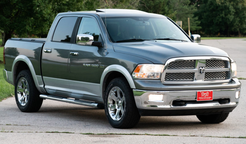 2012 Ram 1500 Crew Cab Laramie, 4×4, Navigation, Heated and Cooled Leather Seats, Chrome Wheels, Fully Loaded full