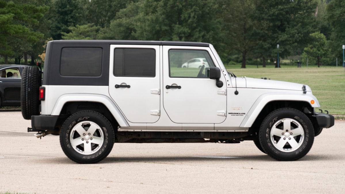 2009 jeep wrangler unlimited sahara towing capacity