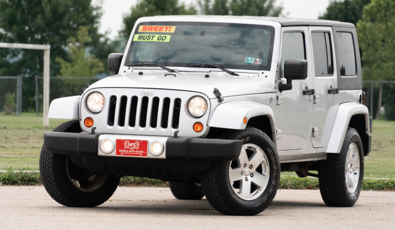 2009 Jeep Wrangler Unlimited Sahara, 4×4, NAV, Hard Top, Towing Package, Fog Lights, Alloy Wheels full